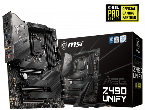 Bild: MSI Z490: Unify-Mainboards als High-End-Serie