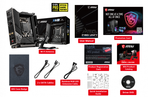MSI Z490: Unify-Mainboards als High-End-Serie