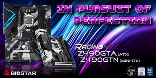 Biostar stellt die Z490-Mainboards der Racing-Serie vor
