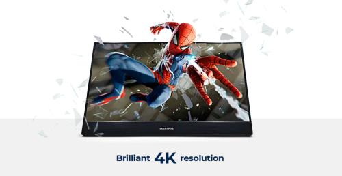 Desklab: Portabler Zusatz-Monitor mit 4K-Auflösung