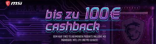 Bild: MSI: Bis 100 Euro Rabatt auf Mainboard+CPU Bundles