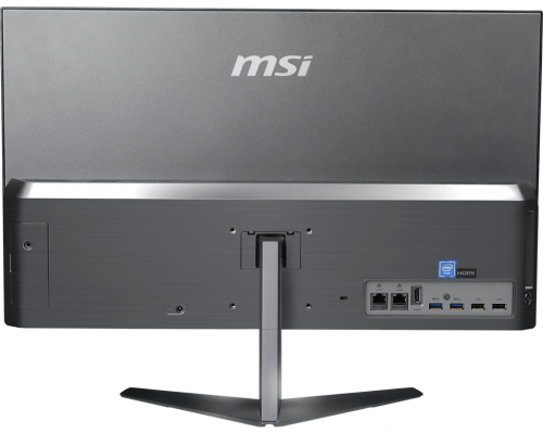 MSI Pro 24X 10M: All-in-One-PC mit besonders schmalen Rahmen