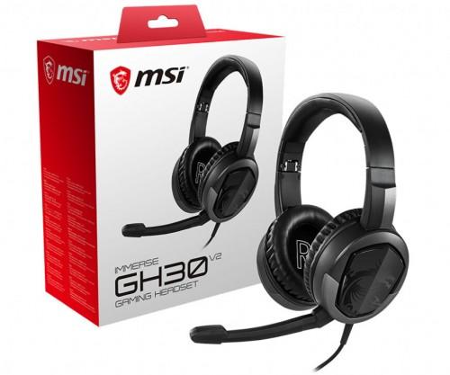 Bild: MSI: Immerse GH30 V2 als Gaming-Headset vorgestellt