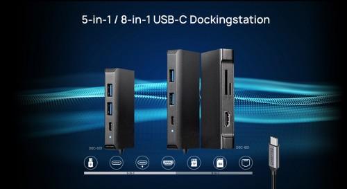 Chieftec: Neue Dockingstations und ein M.2-NVMe-Gehäuse
