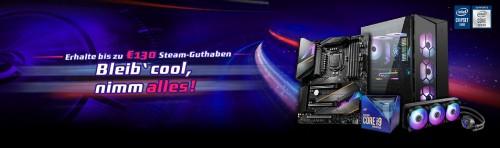 Bild: Beim Kauf von MSI Z490 Mainboards jetzt doppelten Bonus abkassieren!