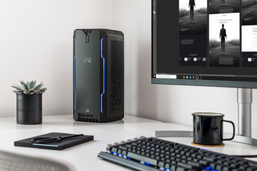 Corsair One a100: High-End-PC mit Ryzen-CPU und Nvidia RTX Grafikkarte