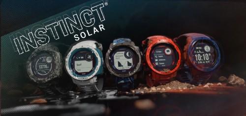 Garmin neue Smartwatches mit Solarladelinse