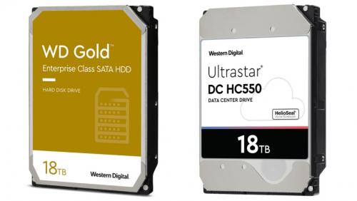 Western Digital: Neue HDDs mit bis zu 18 TB nun auch für Enterprise-Kunden