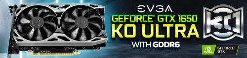 EVGA GeForce GTX 1650 KO Ultra: Custom-Design und GDDR6-Speicher
