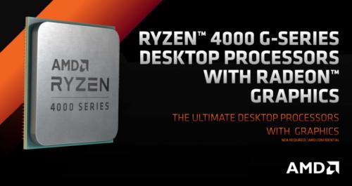 AMD Ryzen G Renoir