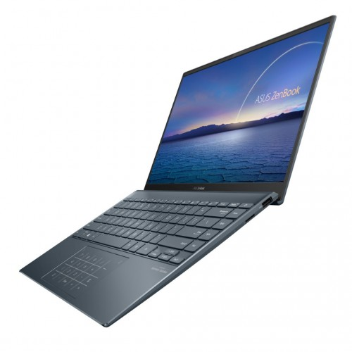ZenBook 14 UX425 ICL Product photo 2G Pine Grey 15 NumberPad