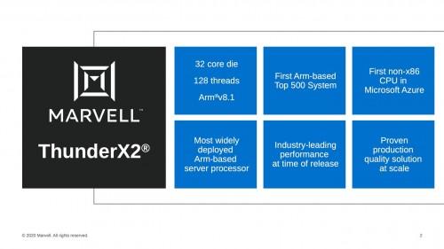 Marvell ThunderX3: Server-CPU mit bis zu 96-Kernen und 384 Threads