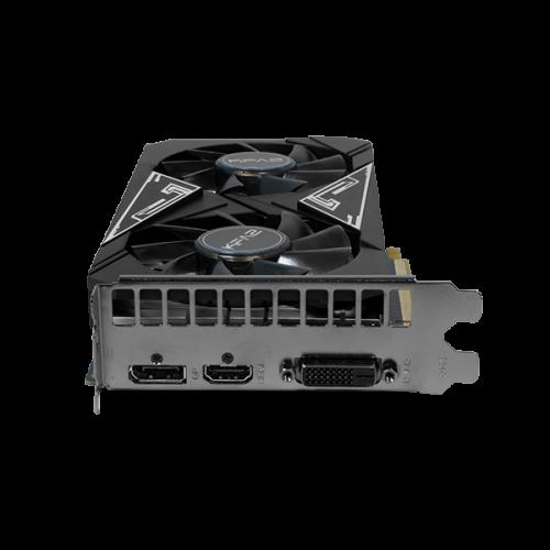 KFA2 GeForce GTX 1650 EX PLUS: Grafikkarte mit 1-Click-OC