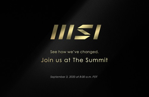 MSI Virtual Summit: Neues High-End-Notebook und Logo wird vorgestellt