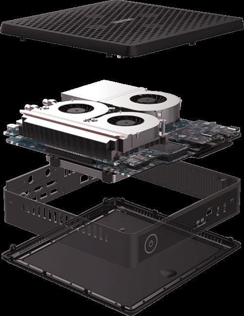 Zotac ZBOX Mini Q: Mini-PC mit Quadro-RTX-Grafikkarte