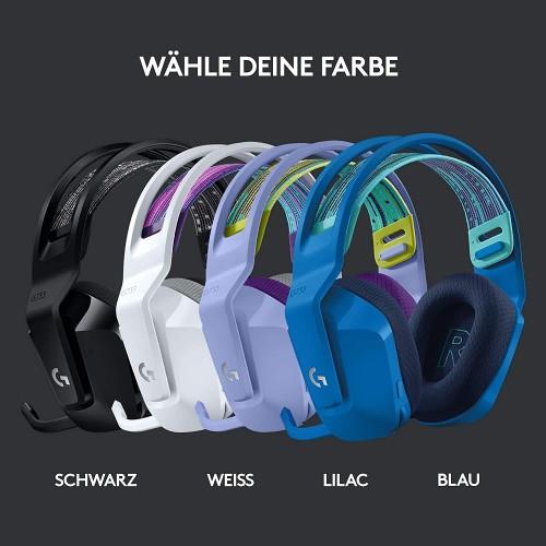 Logitech G733 Lightspeed: Gaming-Headset in vier Farbvarianten