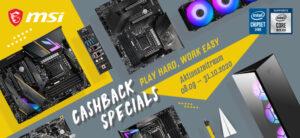 MSI Cashback Special: Bis zu 150 Euro zurück