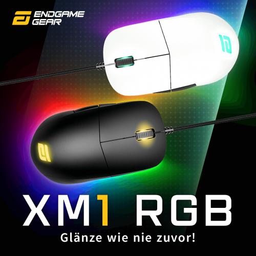 Endgame Gear XM1 RGB: Gaming-Maus mit mechanischen Kailh GM 4.0-Tastern
