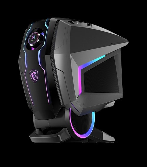 MSI MEG Aegis Ti5: High-End-PC mit Gaming-Button