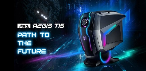 Bild: MSI MEG Aegis Ti5: High-End-PC mit Gaming-Button
