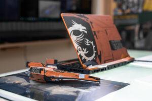 Bild: MSI GE66 Raider Dragonshield Edition: Gaming-Laptop in außergewöhnlichem Design
