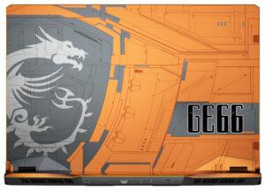 MSI GE66 Raider Dragonshield Edition: Gaming-Laptop in außergewöhnlichem Design