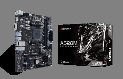 Biostar A520MH und B550MH: Neue Mainboards mit AM4-Sockel