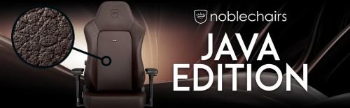 Noblechairs EPIC, IRON und HERO Java Edition mit atmungsaktivem Polsterbezug