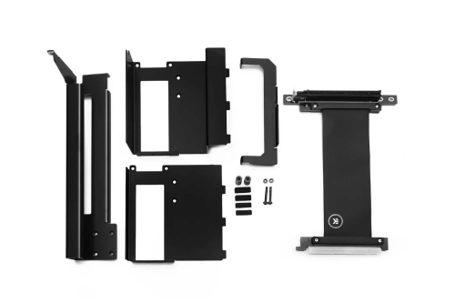 EK-Loop: Riser-Kabel und Halterung für einfache GPU-Vertikalinstallation