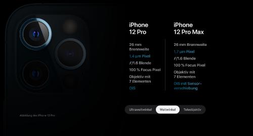 Apple iPhone 12: Vier unterschiedliche Modelle mit Pro-Versionen