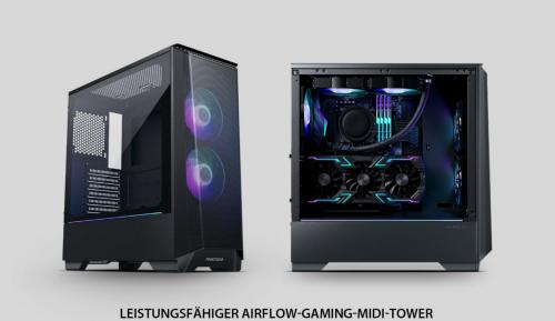 Phanteks Eclipse P360A: Für verbesserten Airflow optimierter Gaming-Tower