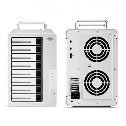 TerraMaster: D8 Thunderbolt 3 RAID-Speicher für 8 Festplatten