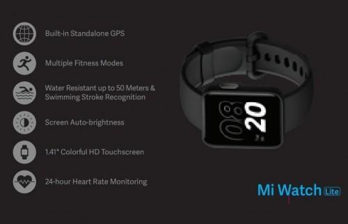 Mi Watch Lite: Günstige Smartwatch im Apple-Design von Xiaomi?