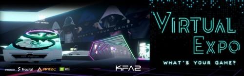 KFA2 Virtual Expo 2020: Virtueller Rundgang über eine futuristische Messe mit Gewinnspiel