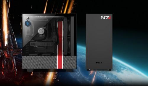 Bild: NZXT präsentiert das CRFT 07 Mass Effect 510i