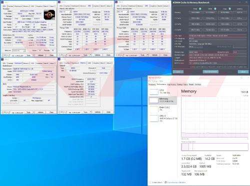 XPG SPECTRIX D50 XTREME GIGABYTE B550 VISION D AMD Ryzen 7 4700G