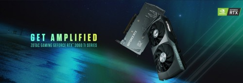 Zotac Get Amplified: Die neuen GeForce RTX 3060 Ti Grafikkarten