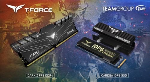 TeamGroup T-Force: Neue DDR4-Speicher und M.2-SSD