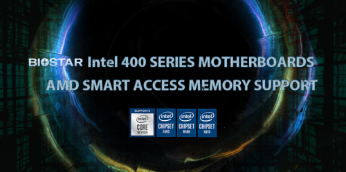 Biostar: Neue UEFIs für Intel-Mainboards mit AMD Smart Access Memory vor