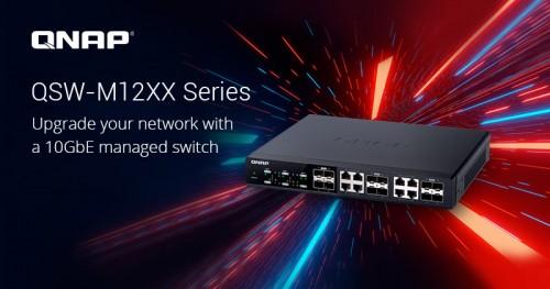 QNAP QWS-M12XX: Professionelle Switches für ein 10GbE-Netzwerk
