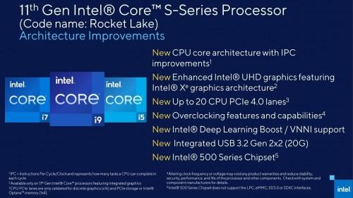 Erster Test: Intel Core i9 11900K vs Core i9 10900K Benchmarks