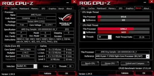 Ryzen 5 5700G: Cezanne-APU schneller als Ryzen 7 3700X?