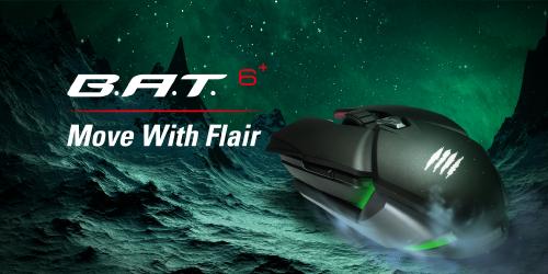 MAD CATZ B.A.T. 6+: Eine Maus inspiriert von Sportwagen und Raumschiffen