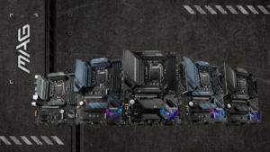 MSI stellt neue Intel-Mainboards mit 500er-Chipsatz vor