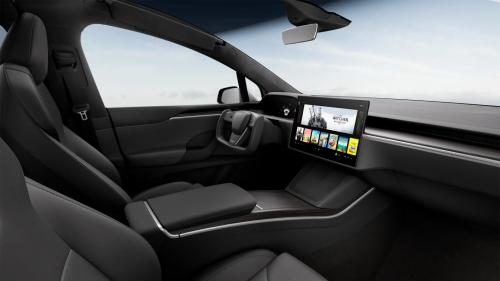 Tesla Model S und X mit Gaming-Konsole im Infotainment