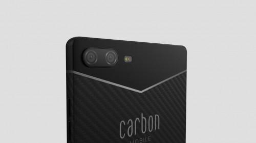 Carbon 1 MK II: Leichtes und nachhaltiges Smartphone aus Kohlefaser