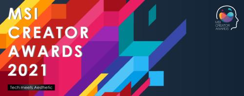 Bild: MSI lädt zu den Creator Awards 2021 ein