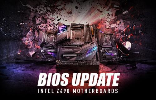 Bild: MSI Z490: BIOS-Updates für PCIe-4.0-Freischaltung mit neuen Intel-CPUs angekündigt