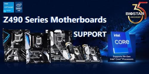 Biostar: Z490-Mainboards unterstützen Intels Rocket-Lake-CPUs
