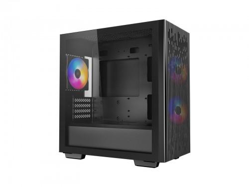 DeepCool Matrexx 40 3FS: mATX-Gehäuse mit 3-farbigen-Lüftern